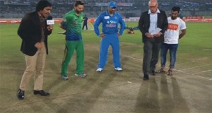 World T20: India wins toss let Pakistan bat