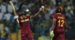World T-20: West Indies hammer Srilanka by 7 wickets