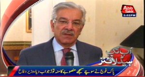 Indian forces resorted to shelling to satisfy its public and media: Khawaja Asif