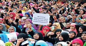 Women, children take out rally against India's atrocities