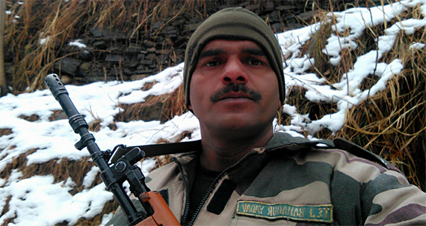 Indian soldier who exposed his own army goes missing