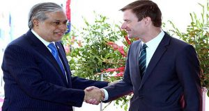 Dar expresses desire to strengthen trade ties with new US govt