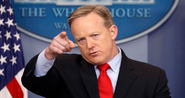 White House bans major news channels form press briefing