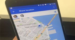 Google Maps introduces location sharing feature