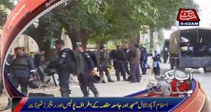 Security tightened around Lal Masjid amid protest reports