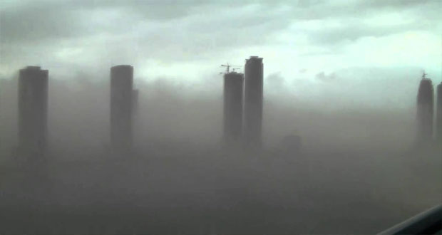 Sandstorm hits Saudi Arabia, Dubai causing life disruption
