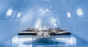 Sweden Ice hotel attracts tourists