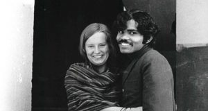 Poor Indian artist pedals to his Swedish sweetheart