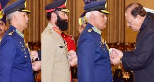 Pakistan Day: President confers awards on various personalities