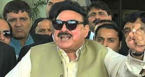 Sheikh Rasheed claims military courts' decision today