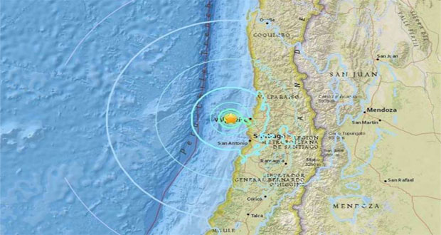 Chile  jolted by 5.9 magnitude quake