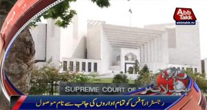 Islamabad: SC Registrar office receives all names for Panama's JIT