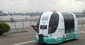 Driverless cars to take UK roads in 2019