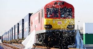 First UK-China train departs, to pass through 7 nations
