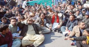 Health Employees Council strike continues in Peshawar