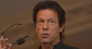 Eid celebrations dimmed due to terrorism, Fire tragedy: Imran