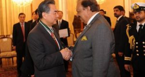 President Meets Chinese FM, Lauds Efforts to Bring Peace in Afghanistan