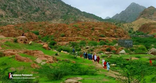 Karunjhar Mountain: Pretty and Picturesque After Rain