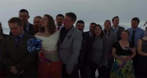 Couple Tie a Knot in British Antarctic Territory