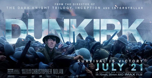 Dunkirk Holds Top Position at US Box Office