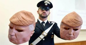 Robbers Wear Trump Masks During Bank Heists in Italy