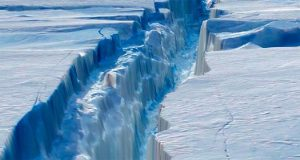 Antarctica: Giant Iceberg Continues to Drift Seaward