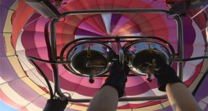 98-Year-Old Man Takes Special Ride on Hot Air Balloon