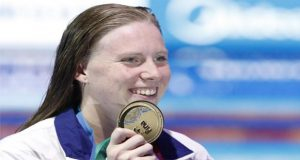 US Swimmer Lily King Wins Gold in 100m Women's Breaststroke