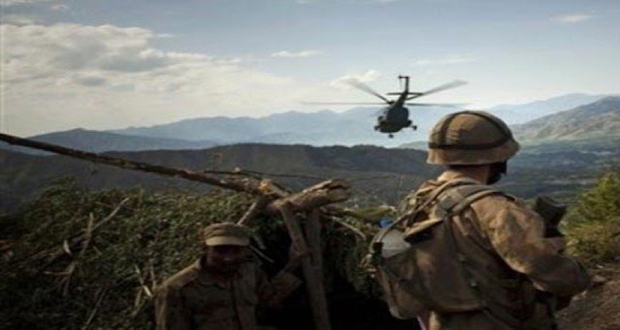 Eight Terrorists Killed in Airstrike Under K-4 operation in Terah