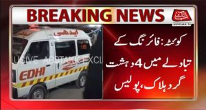 Police Encounter Leaves Four Terrorists Killed in Mastung