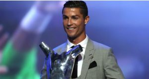 Cristiano Ronaldo Named Player of the Year 2017