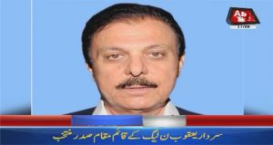 Yaqoob Nasir Appointed Acting President of PML-N