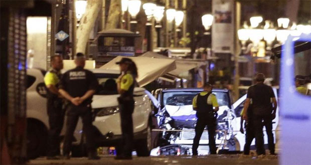 IS Claims Responsibility of Barcelona Attack