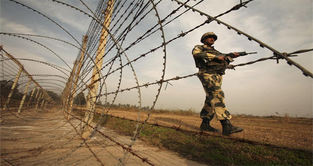 A Woman Martyred in Indian Forces Firing at LoC