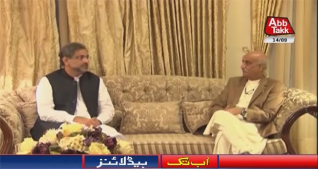 PM, Shah Discuss Appointment of New NAB Chairman