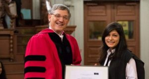 Pak Student Bags Oxford University's Highest Honor