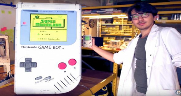 Student Builds World's Largest Working Game Boy