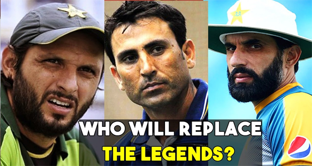 PCB to Honour Misbah, Younus, Afridi Today