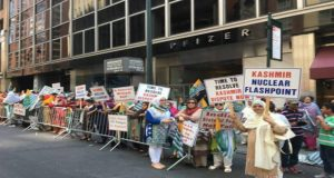 New York: Kashmiris, Sikhs Stage Massive Protests Outside UN