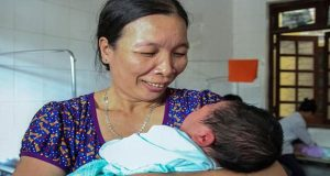 Vietnam Woman Gives Birth to 7 Kg Baby