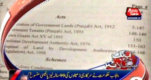 Punjab Govt cancels 99- years lease policy of government land