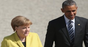 Obama reaches Germany discusses TAT agreement