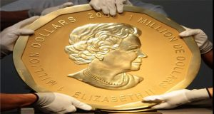 200-lb gold coin that's worth more than $1 million is stolen in Germany