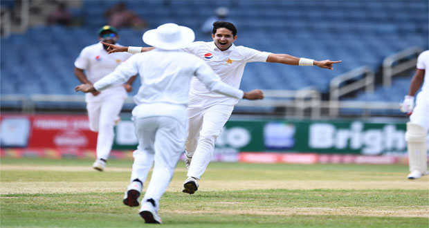1st Test: Pakistani pacers rattle Caribbean's batting before lunch