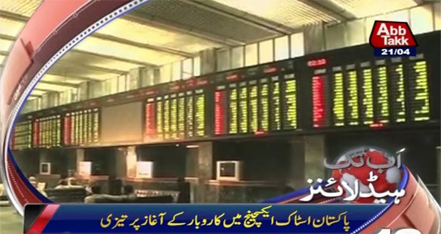 PSX gains 100-700 points in midday trading
