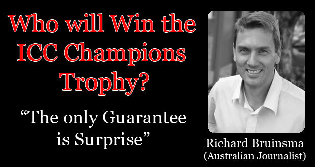Who'll win the Champions Trophy? The only Guarantee is Surprise!