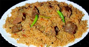 Eid Recipes – Vegetable and Beef Pulao