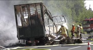 18 Dead, over 30 Injured as Bus Crashes in Germany