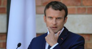 Macron Tells Trump To Stick With Iran Nuclear Deal