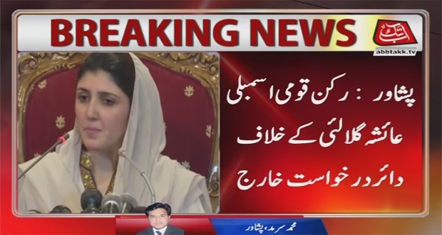 ECP Rejects Petition Against Ayesha Gulalai